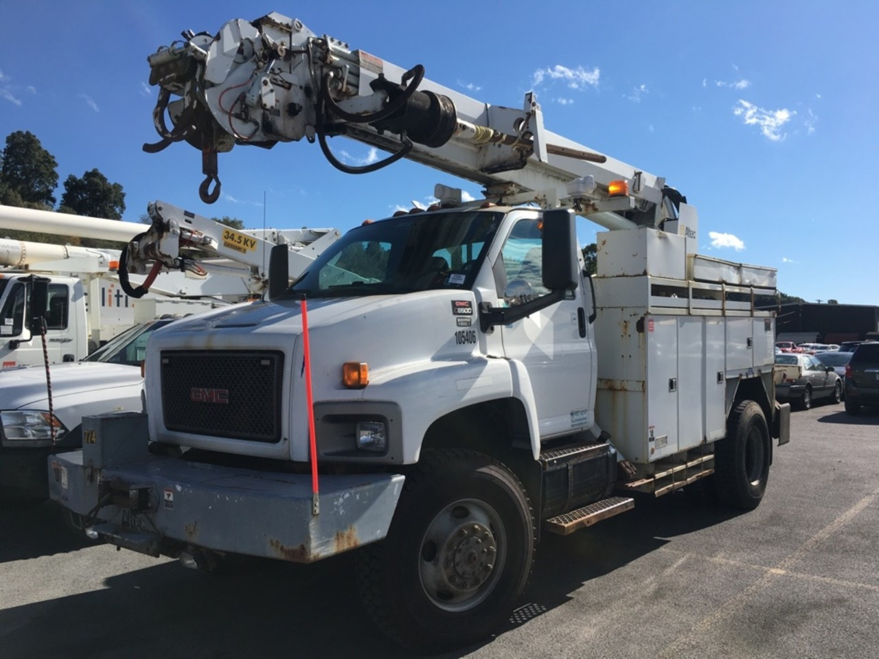 Used, 2006, GMC, C8500, Cab Chassis