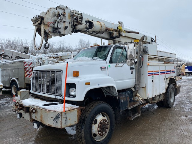 Used, 2000, GMC, C8500, Cab Chassis