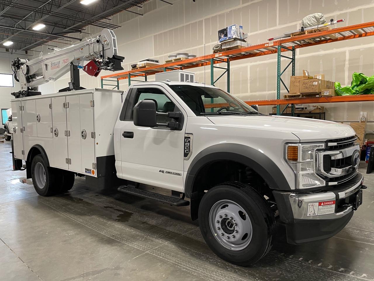 New, 2021, FORD, F600, Crane Truck