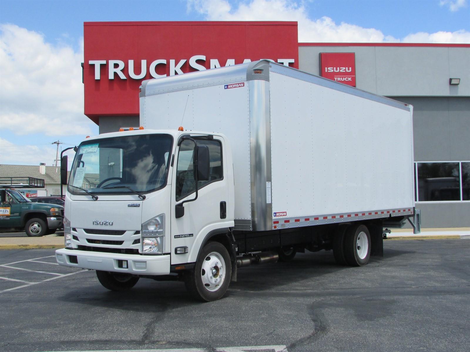 New, 2021, ISUZU, NPR HD, Box Truck - Straight Truck