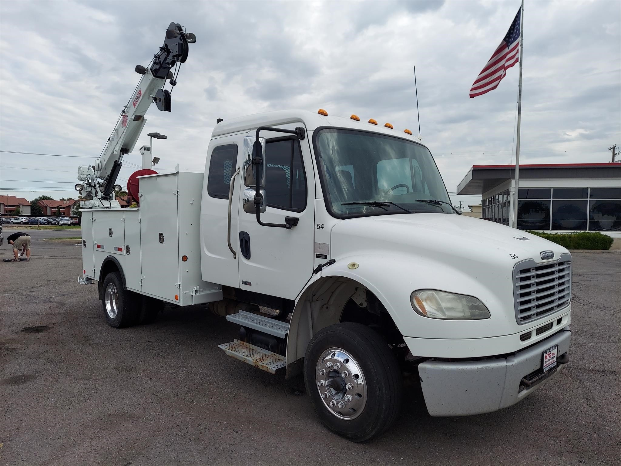 Used, 2008, FREIGHTLINER, BUSINESS CLASS M2 106, Utility Truck - Service Truck