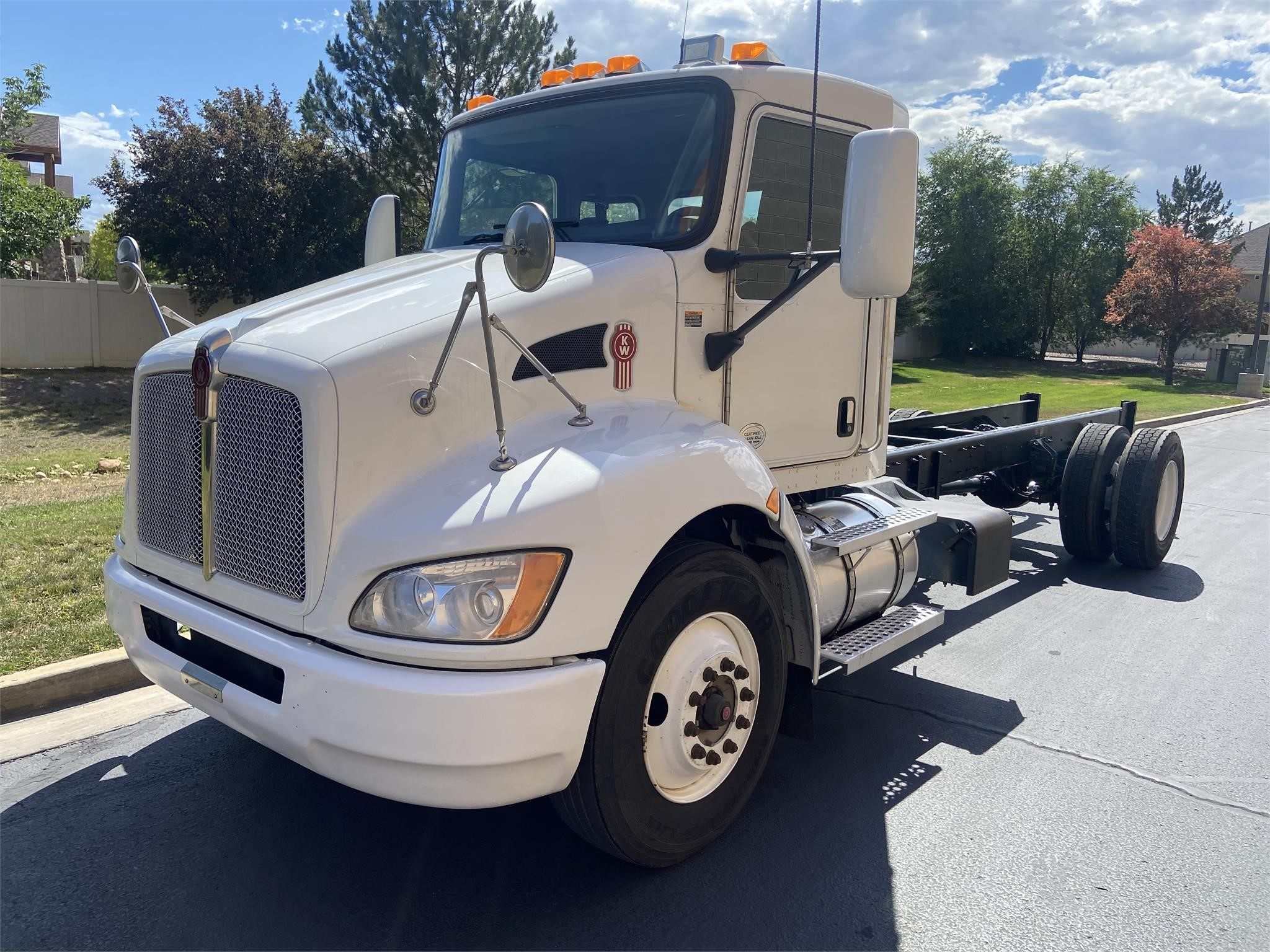 Used, 2015, KENWORTH, T370, Cab Chassis