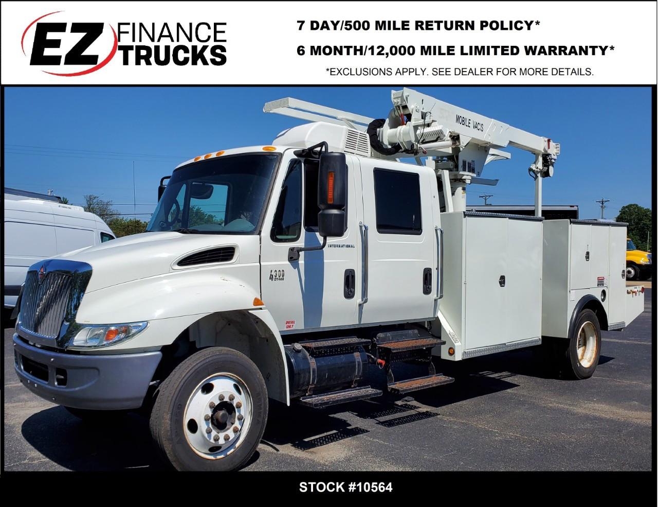 Used, 2004, INTERNATIONAL, 4000, Crane Truck