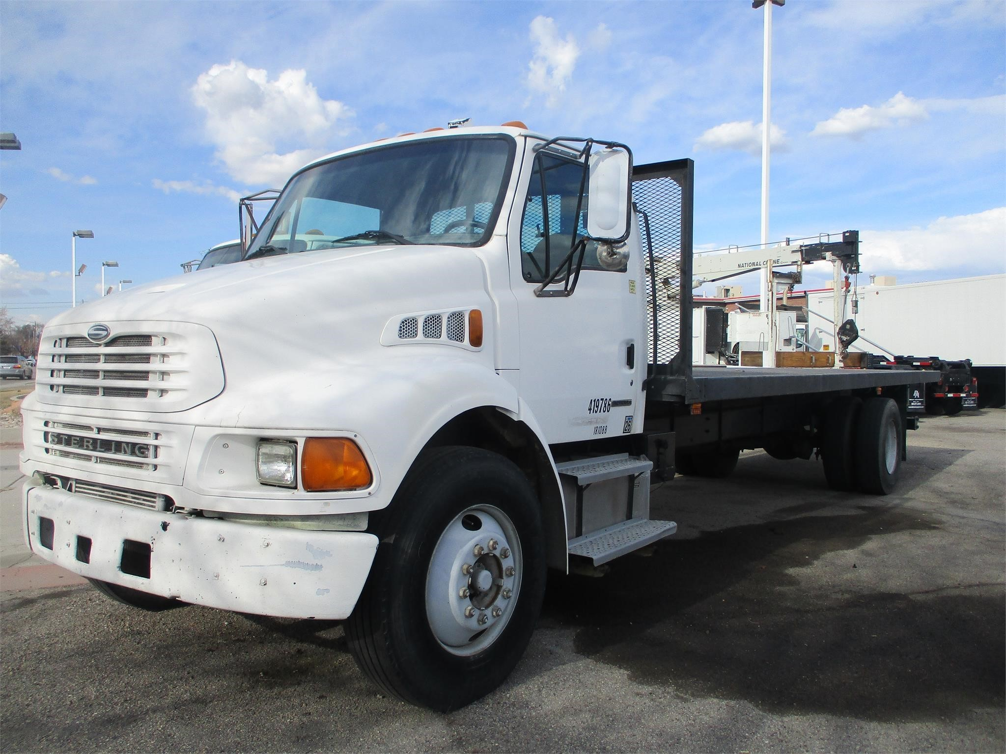 Used, 2001, STERLING, M7500 ACTERRA, Flatbed Truck