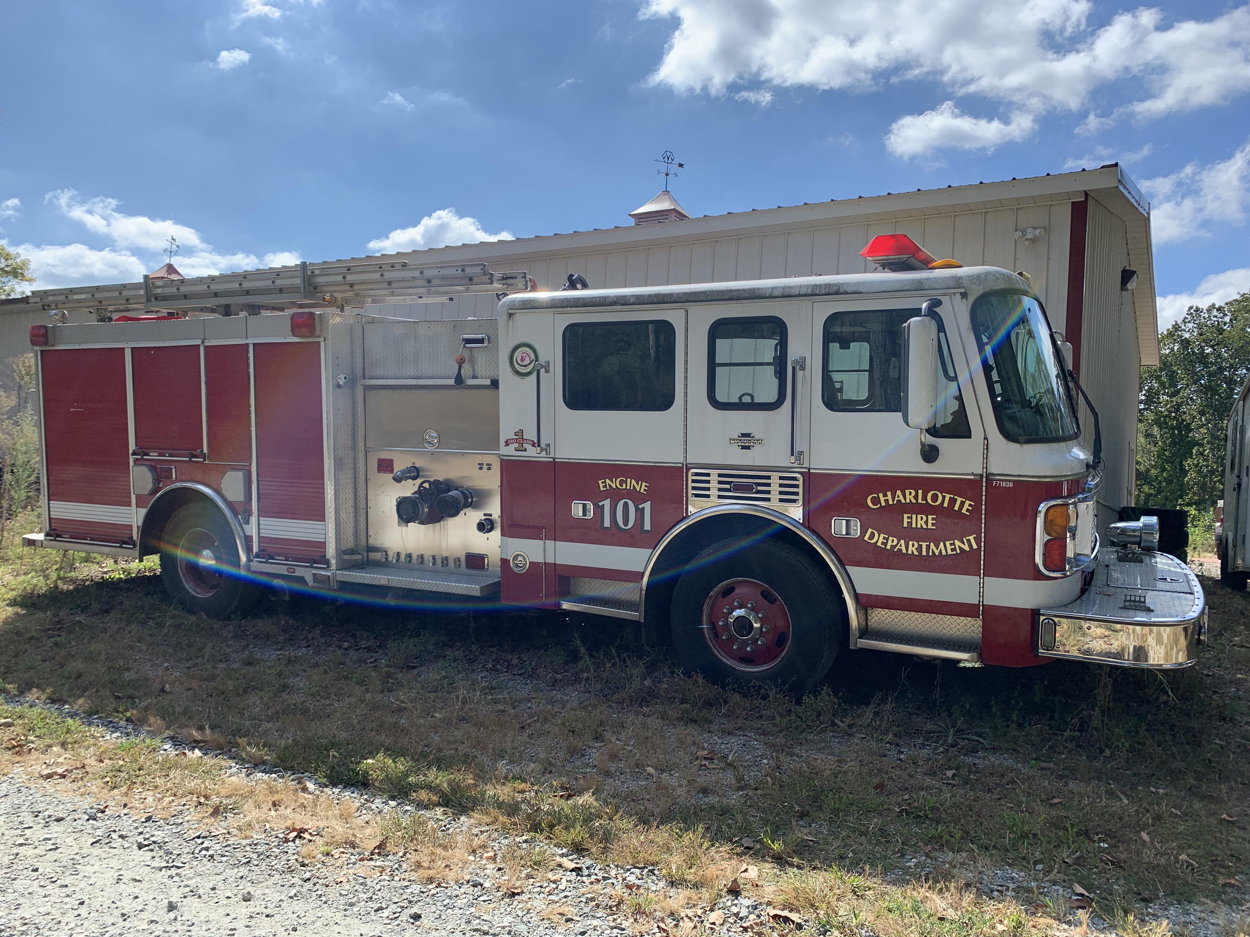 Used, 1998, AMERICAN LAFRANCE, FIRE TRUCK, Ambulance